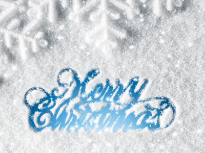Christmas Letter Screensaver