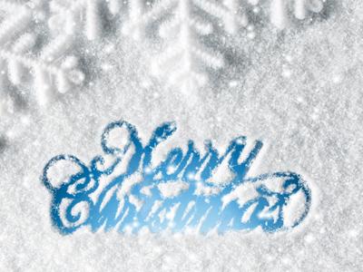Christmas Letter Screensaver