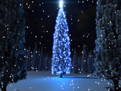 Screenshot of Holiday Tree Screensaver 1.0