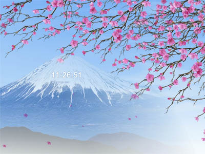 Click to download Japan Spring Screensaver