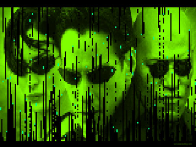 Matrix 3D Screensaver Screen shot