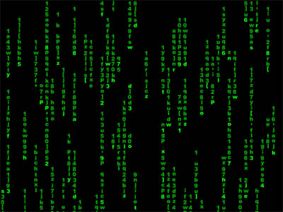 Matrix Screensaver full screenshot