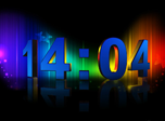3D Numeric Clock Screensaver - Free Screensavers Download
