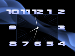 Box Clock Screensaver - Free Screensavers