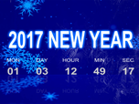 Free Holiday Screensavers - Digital Countdown Screensaver