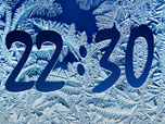 Frost Clock - Windows 8 Effects Screensavers