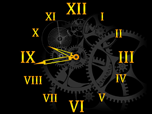 Clock Mechanism - Windows 8 Effects Screensavers