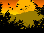 Free Animated Screensavers - Paradise Birds Screensaver