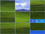Shuffle Desktop - Windows 8 Effects Screensavers