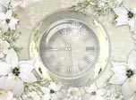 Download Free Screensavers - Silver Clock Screensaver