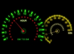 Clock Screensavers - Speed Color Screensaver