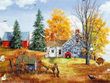 Free Cartoon Screensavers - Autumn Life Screensaver