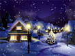 Free Christmas Screensavers - Christmas Snowfall Screensaver