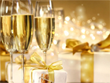 Free Christmas Screensavers - Holiday Champagne Screensaver