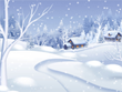 Free Christmas Screensavers - Morning Snowfall Screensaver