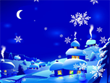 Free Christmas Screensavers - New Year Snowfall Screensaver