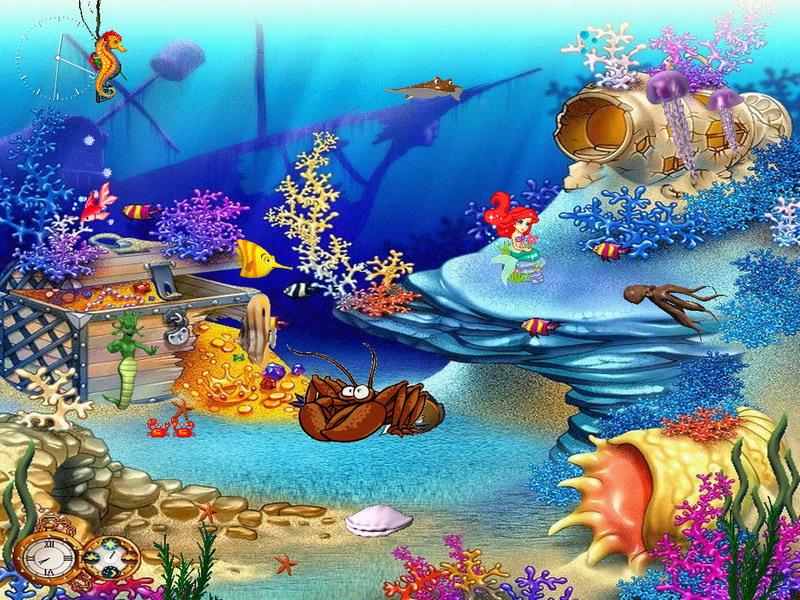 анимационные картинки подводного мира сицилии