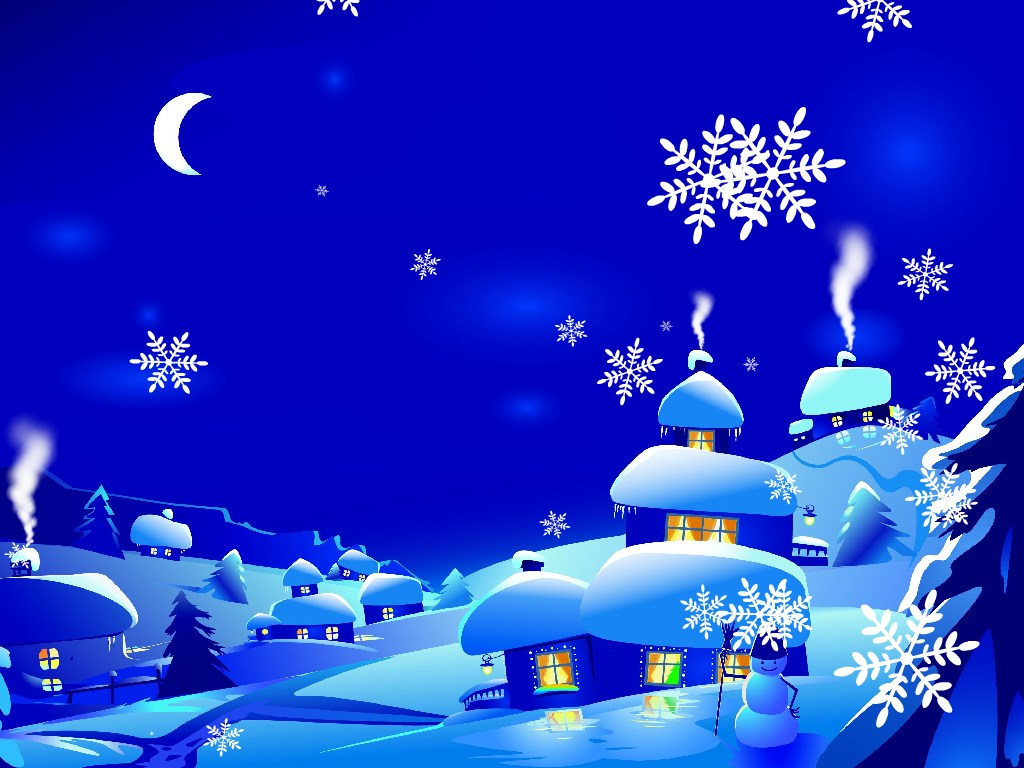 download new year screensaver new year snowfall screenshot 1