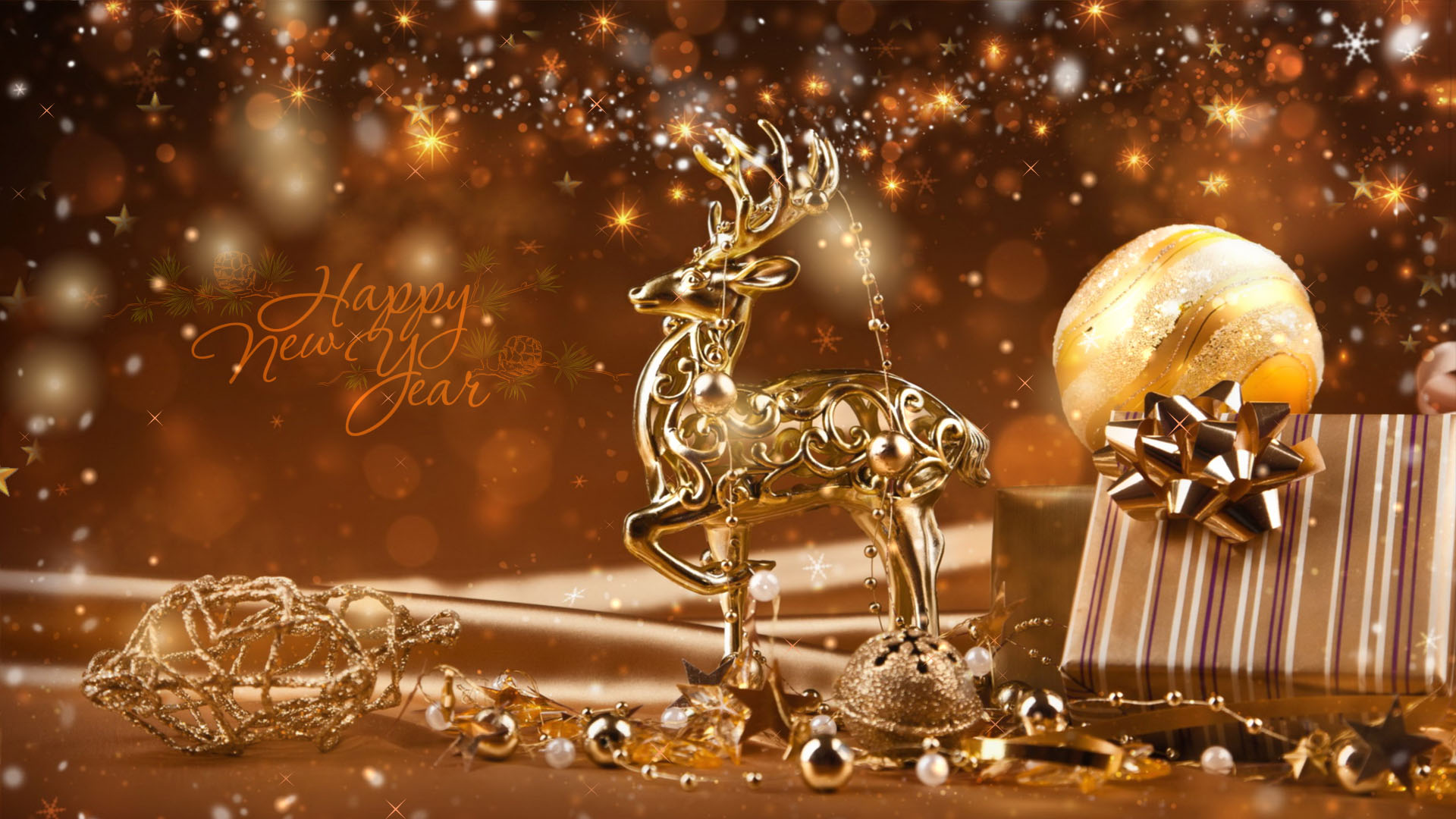 animated new year screensaver new year warmth screenshot 1