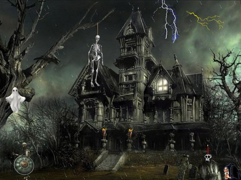 download halloween screensaver horror of the night screenshot 1