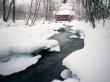 River in winter - winter wallpaper