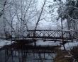 Bridge in winter - winter wallpaper