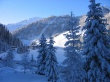 Mountains resort - winter wallpaper