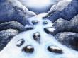 Lost river - winter wallpaper