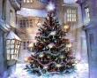 Christmas tree inside - christmas wallpaper