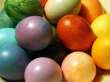 Easter colored eggs - easter wallpaper