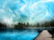 No more rain - scenery wallpaper