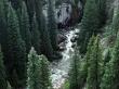 Mountain river - scenery wallpaper