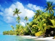 Beach paradise - scenery wallpaper