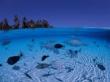 Blue beach - scenery wallpaper