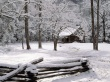 Carter Shields Cabin - winter wallpaper