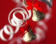 Bells in Red - christmas wallpaper