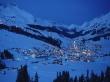Snow Village - winter wallpaper