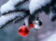 Winter Globes - christmas wallpaper