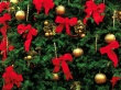 Red Bows - christmas wallpaper