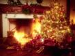 Santa Was Here - christmas wallpaper