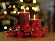 Elegant Candles - christmas wallpaper