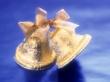 Golden Bells - christmas wallpaper