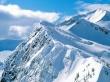 White Peaks - winter wallpaper