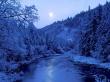 Frozen River - winter wallpaper