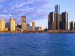 Detroit at Sunrise - usa wallpaper