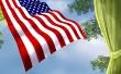 Waving Flag - usa wallpaper
