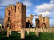 Lindisfarne Priory - england wallpaper