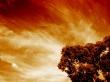Fire Sky - scenery wallpaper