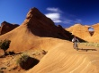Riding the Sandstone - scenery wallpaper