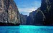 Blue River - scenery wallpaper